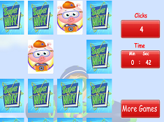 Super Why Memory Matching