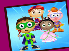 Super Why Sort My Tiles