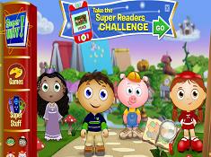 Super Why Super Readers Challenge