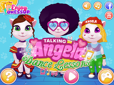 Talking Angela Dance Lessons