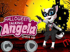 Talking Angela Halloween Dress Up