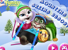 Talking Tom Mountain Skiing Resort