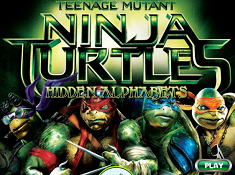 Teenage Mutant Ninja Turtles Hidden Alphabets