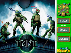 Teenage Mutant Ninja Turtles Hidden Stars