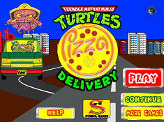 Teenage Mutant Ninja Turtles Pizza Delivery