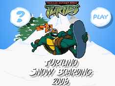 Teenage Mutant Ninja Turtles Snowboarding