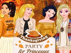 Thanksgiving Party for Princesses