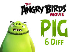 The Angry Birds Movie Pig 6 Diff