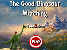 The Good Dinosaur Matching