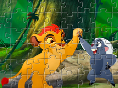 The Lion Guard Character Puzzle