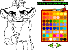 Coloring The Lion Guard Characters