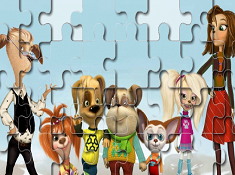 The Pooches Family Puzzle