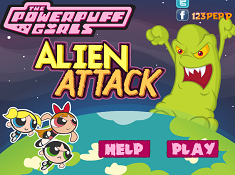 The Powerpuff Girls Alien Attack