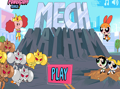 The Powerpuff Girls Mech Mayhem