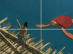 The Red Turtle Sliding Puzzle