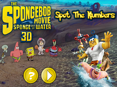 The Spongebob Movie Spot the Numbers