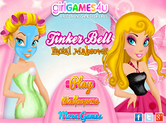 Tinkerbell Facial Makeover