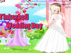 Tinkerbell Wedding Day