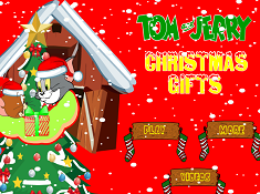 Tom and Jerry Christmas Gifts