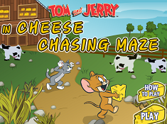 Tom and Jerry in Cheese Chasing Maze