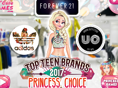 Top Teen Brands 2017 Princess Choice