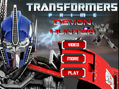 Transformers Prime Demon Hunter