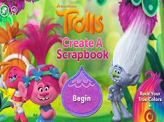 Trolls Create a Scrapbook