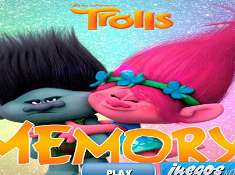 Trolls Memory Matching