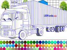Truck Coloring