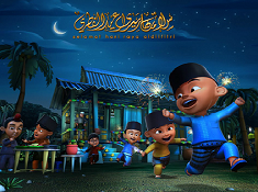 Upin and Ipin Puzzle