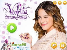 Violetta Coloring Book