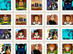Voltron Legendary Defender Memory Game