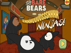 We Bare Bears Shush Ninjas