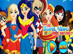 Which DC Super Hero Girl Are You