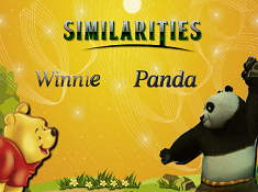Winnie and Panda Similarities