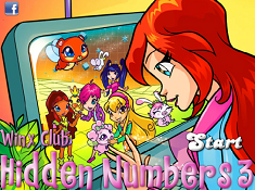Winx Clubb Hidden Numbers 3