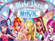 WINX MAKE OVER MAGIC - WINX GAMES