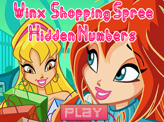 Winx Shopping Spree Hidden Numbers