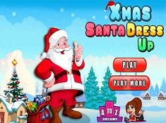 Xmas Santa Dress Up