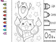 Yo Kai Watch Coloring