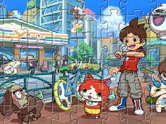 Yo Kai Watch Puzzle