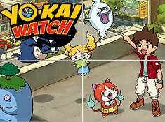 Yo-Kai Watch Sliding Puzzle 2