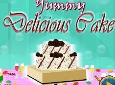 Yummy Delicious Cake