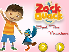 Zack and Quack Spot the Numbers