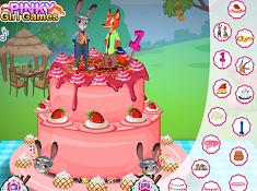 Zootopia Birthday Cake