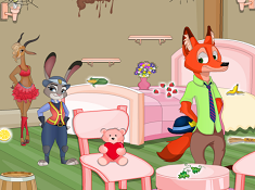 Zootopia House Cleaning