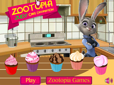 Zootopia Judy Cake Decoration