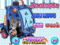 Zootopia Judy Hopps Car Wash
