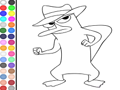 Agent P Coloring