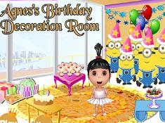 Agnes Birthday Decoration Room